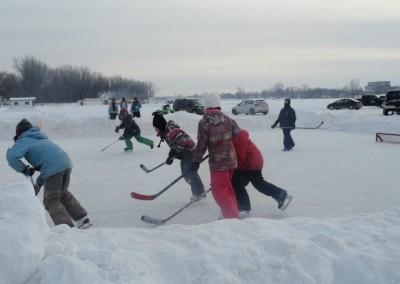 hockey - Poissons des chenaux, la pêche au poulamon à Ste-Anne-de-la-Pérade